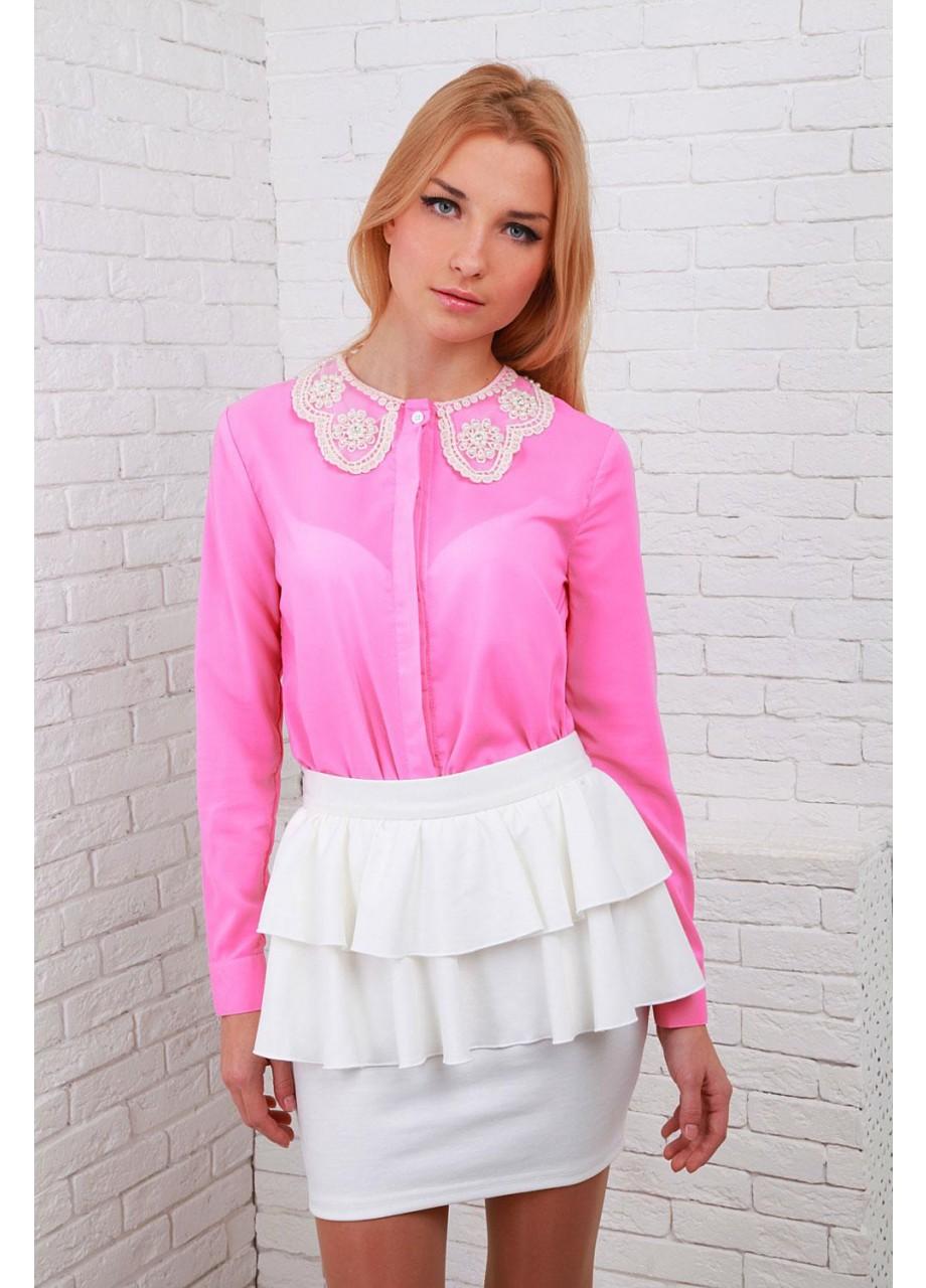 Розовая Блузка В Москве