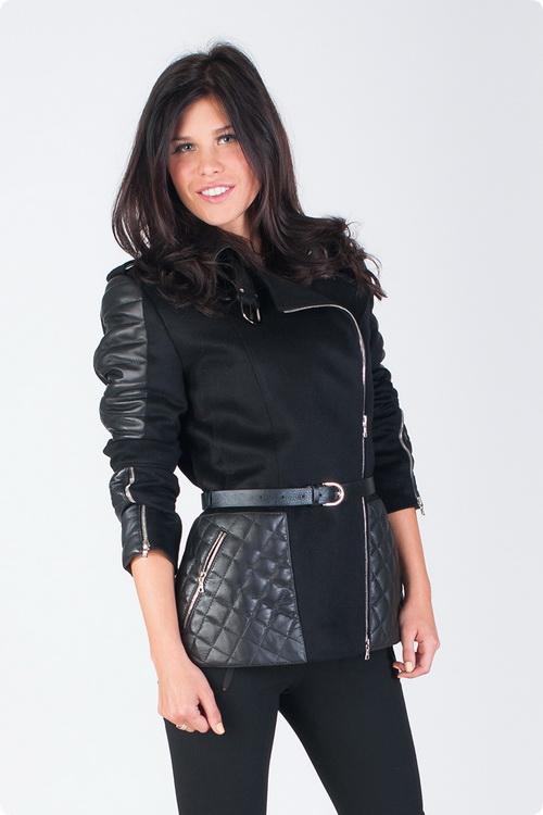 Комбинированные модные куртки 22