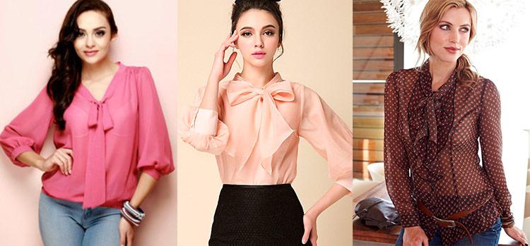 Модные Блузки Из Шифона Купить