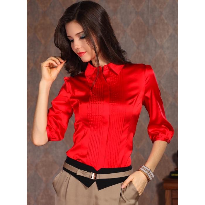 Блузки Красные