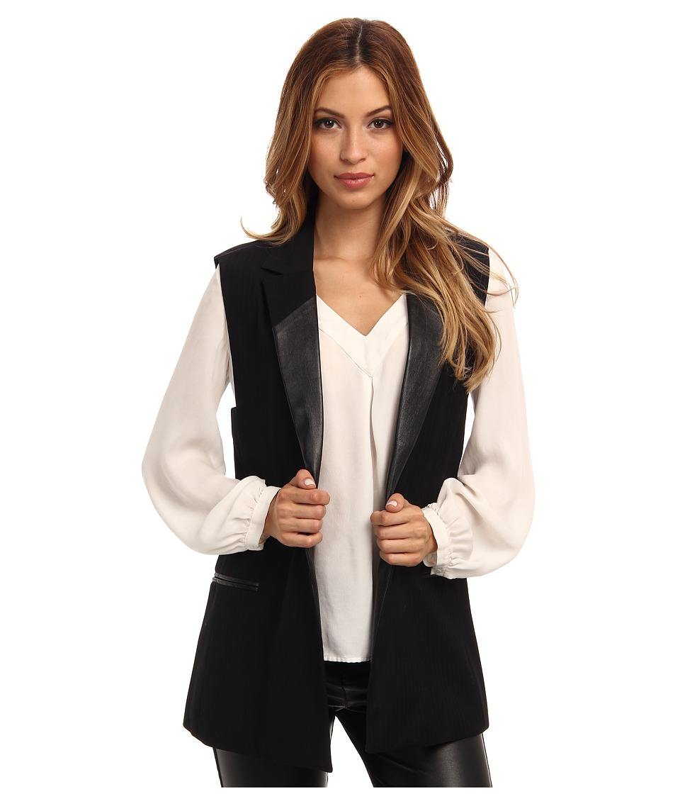 d02dde54b4b Женский пиджак без рукавов (42 фото)  с чем носить