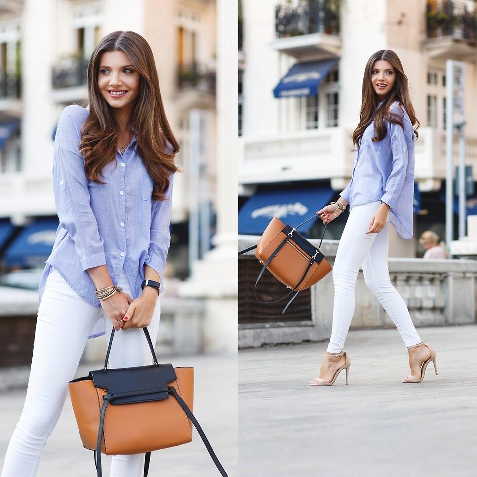 69e7f85597f38f1 С чем носить длинную женскую рубашку (46 фото): белую, черную, удлиненную,  женскую, рубашку-тунику, без рукавов