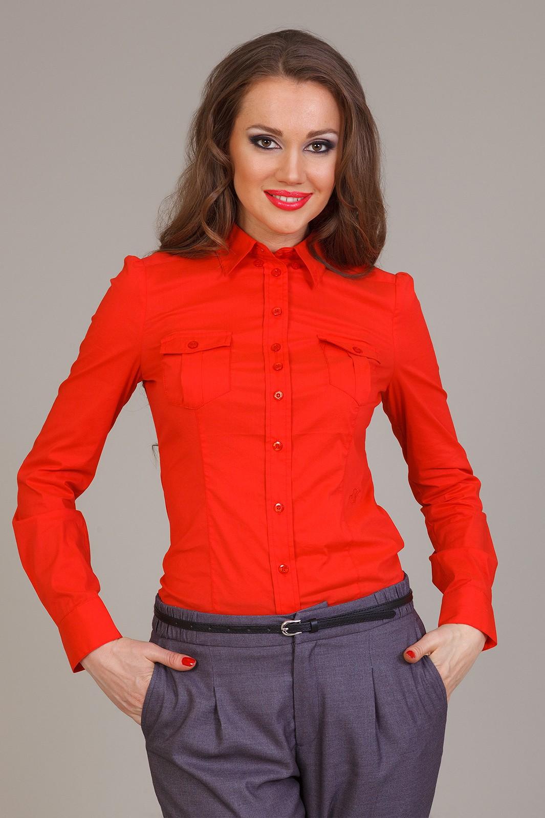 Купить Блузку Женскую Красную