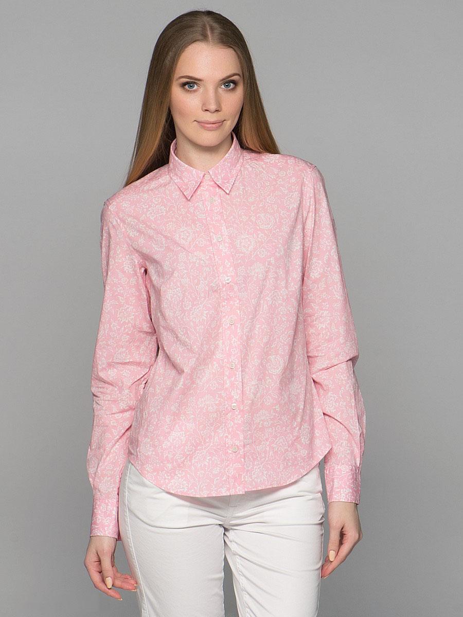ecfc34be2c1 Женская розовая рубашка (40 фото)  с чем носить