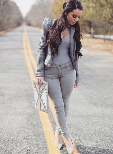 ebfe463d Серые женские брюки (59 фото): с чем носить, какой стиль подходящий ...