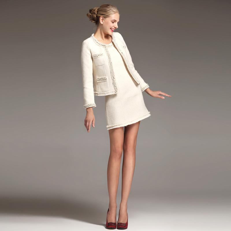 Что носить с твидовым пиджаком
