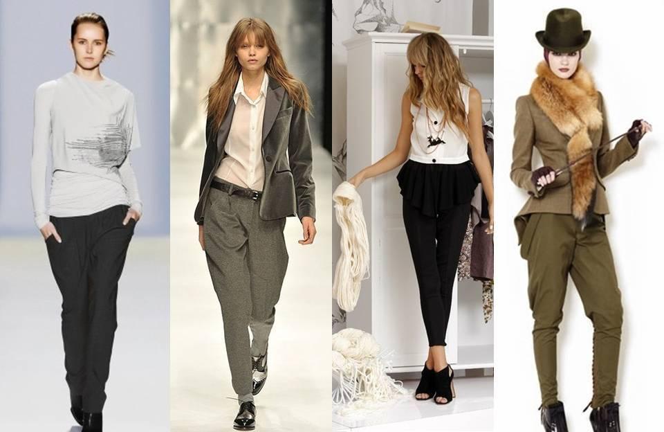 С чем носить брюки строги