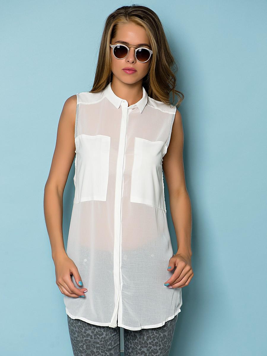 Рубашка без рукавов женская сшить фото 957