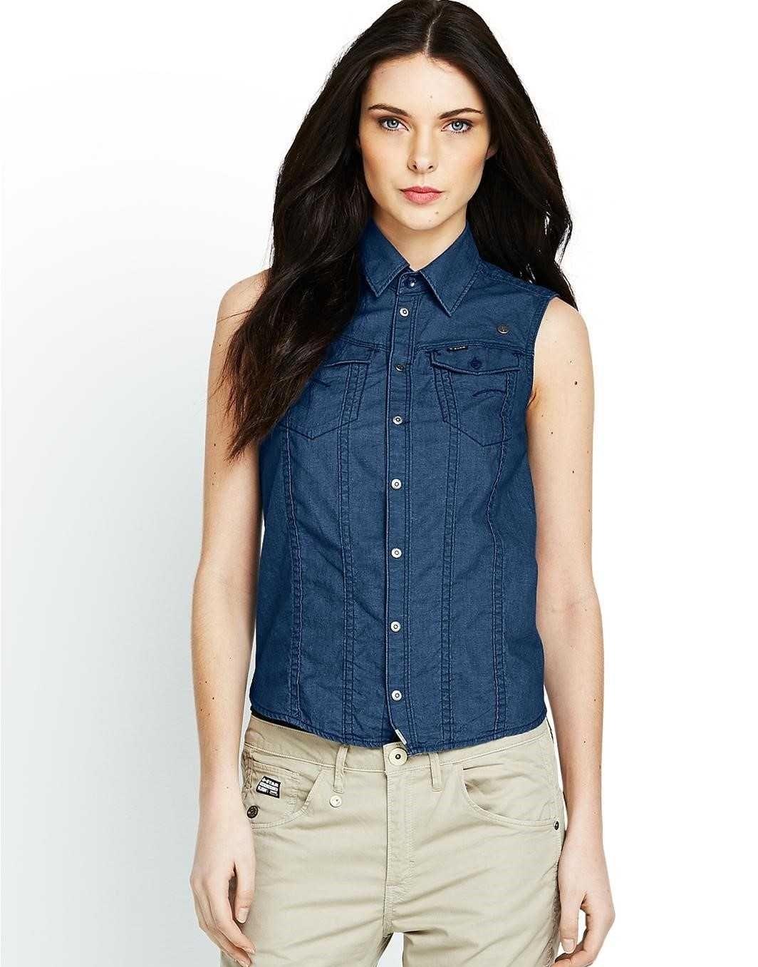 Рубашка без рукавов женская сшить фото 907