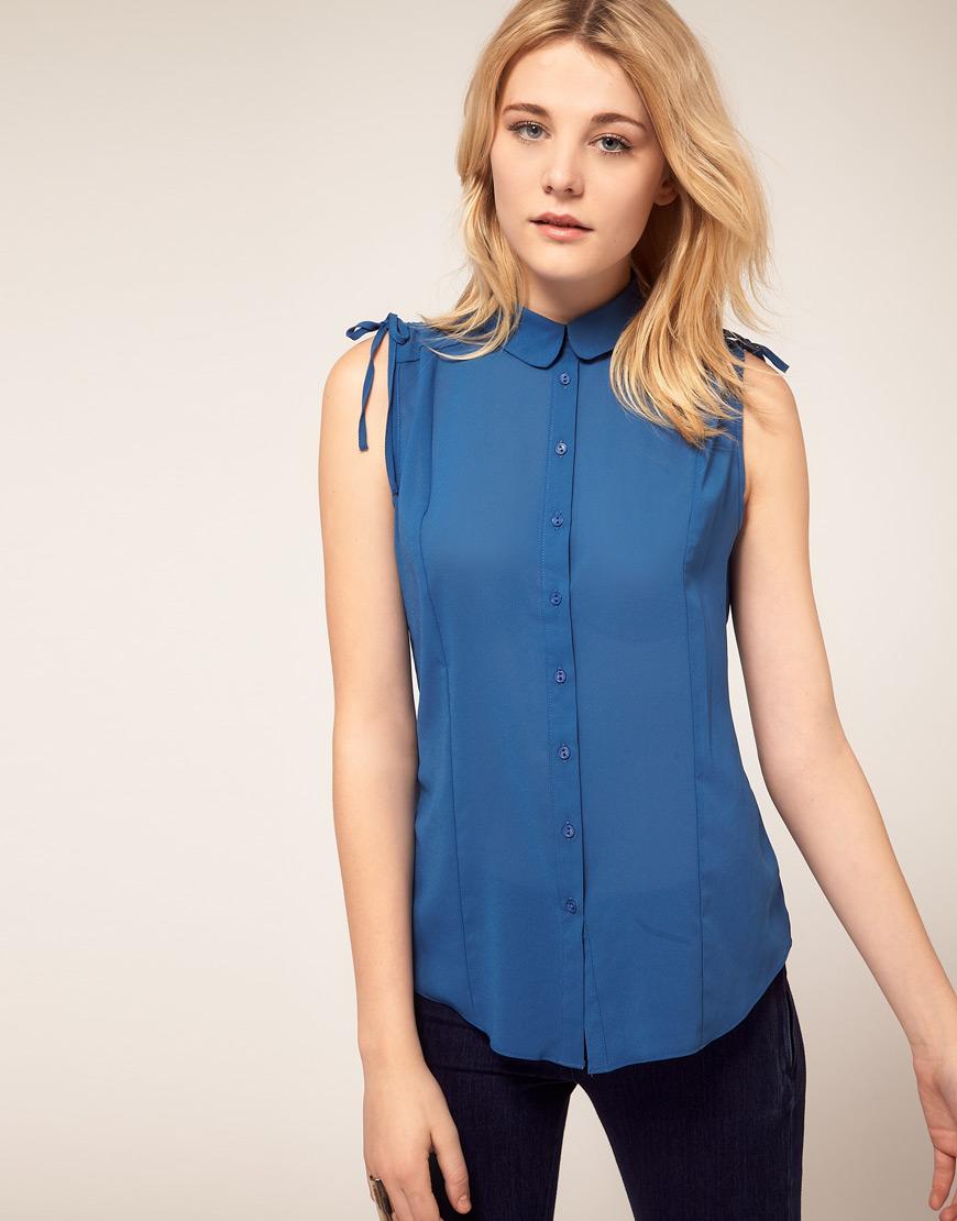 Рубашка без рукавов женская сшить фото 83
