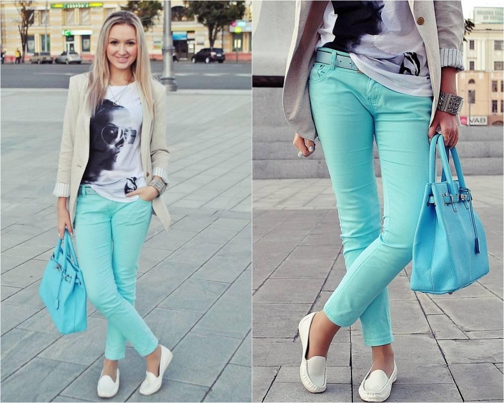 С чем можно одевать джинсы