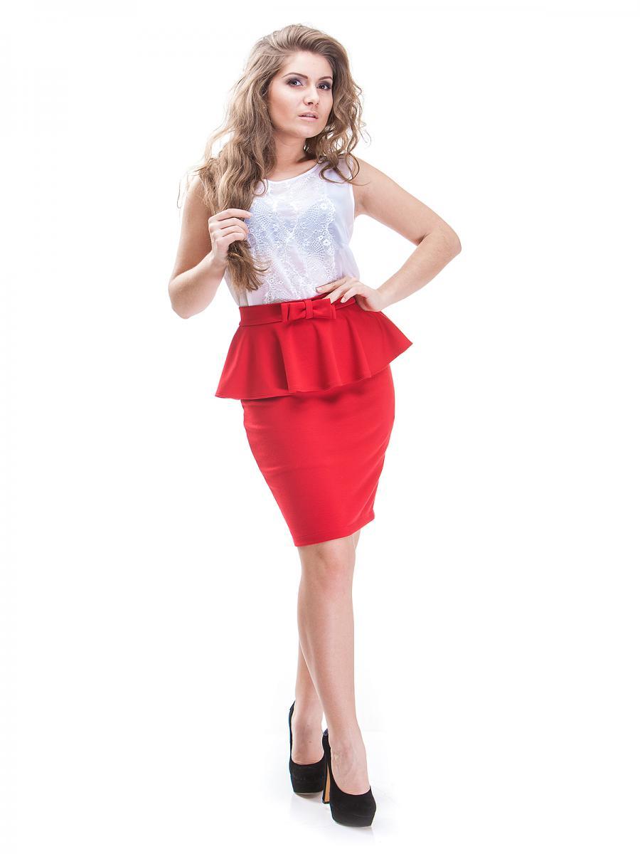 Красная Юбка И Белая Блузка В Челябинске