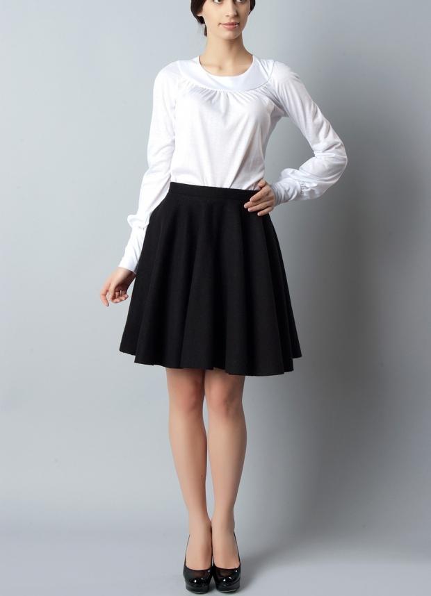 Черные юбки карандаш для девочек