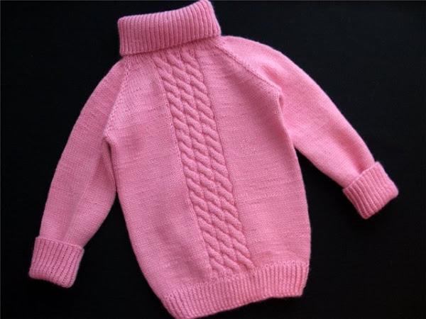 Пуловер Реглан Для Девочки