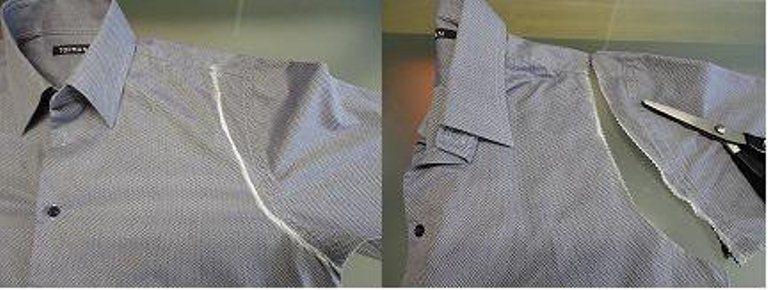 Как сделать фото в рубашке