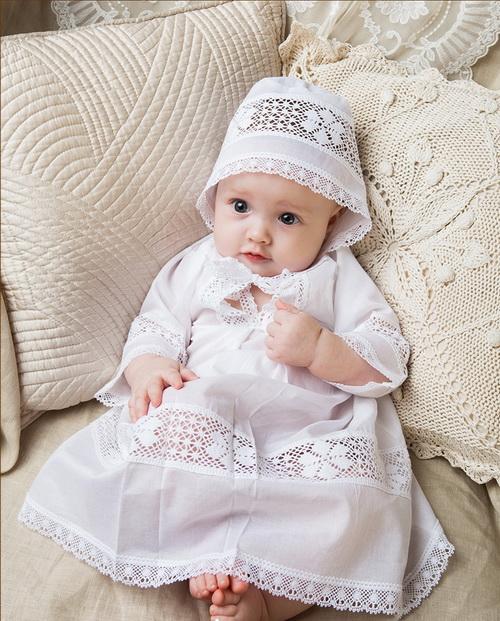 рубашка крестильная для девочки фото