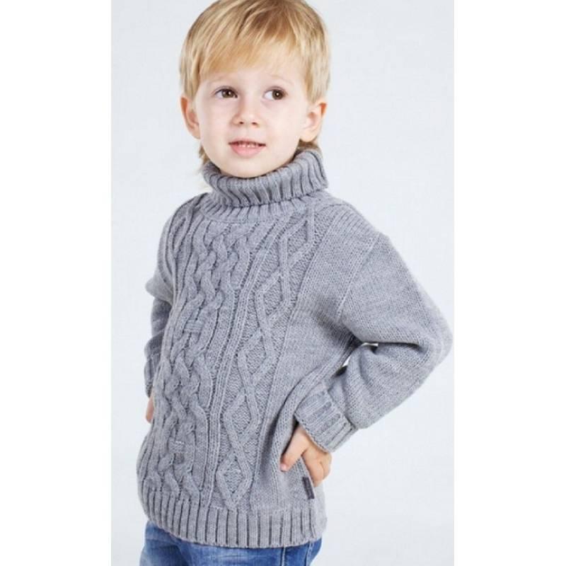 Вязание спицами свитера на мальчика 3 года 261