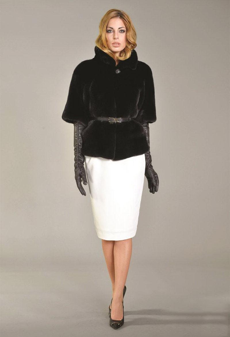 Модные пальто из вязаной норки изоражения
