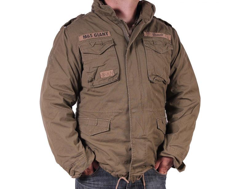 Купить Куртка M65 Giant Brandit Black