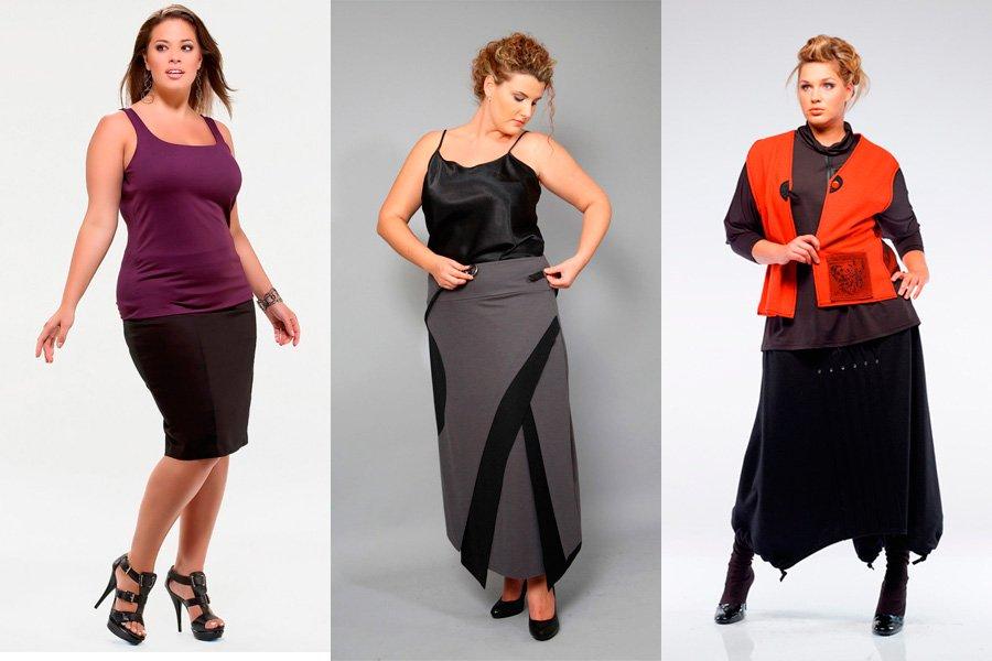 Под юбкой толстых женщин
