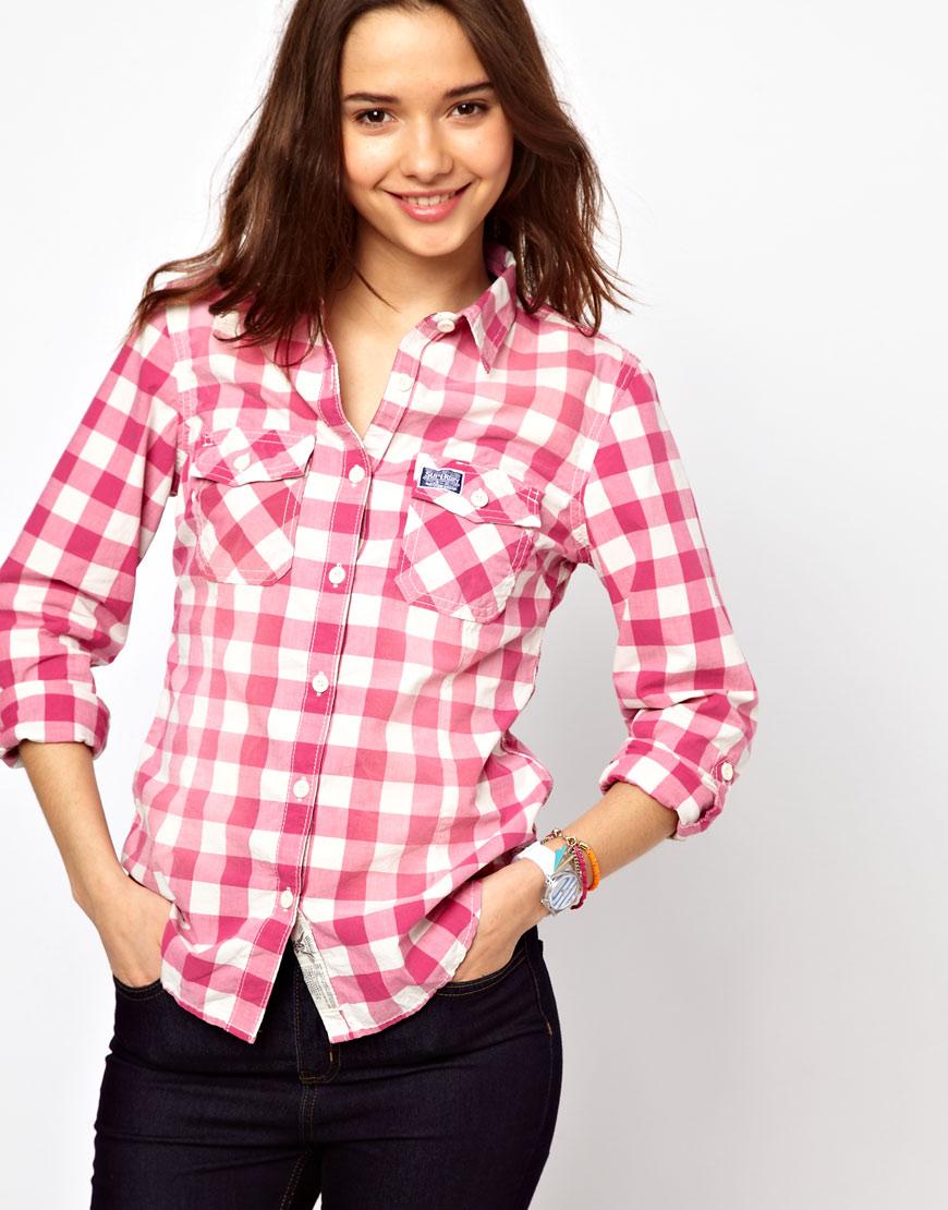 Сшить женских рубашек в клетку