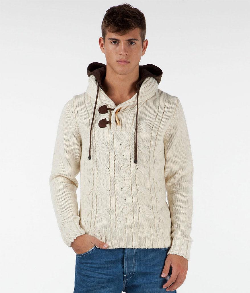 Вязаная куртка и шапка (Вязание для мужчин) Вязание 92