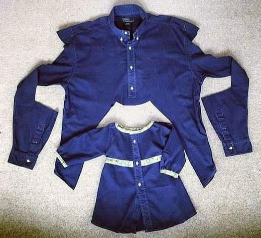 Как сшить платье рубашку для ребенка