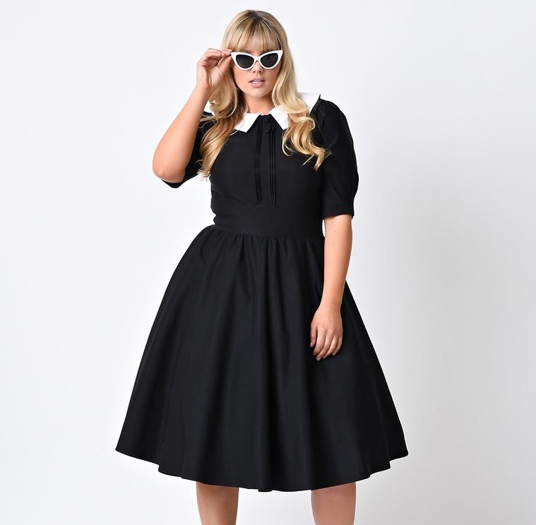 Платье с юбкой полусолнце без рукава