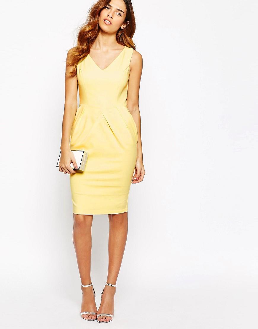 Платье с юбкой-тюльпан выкройка