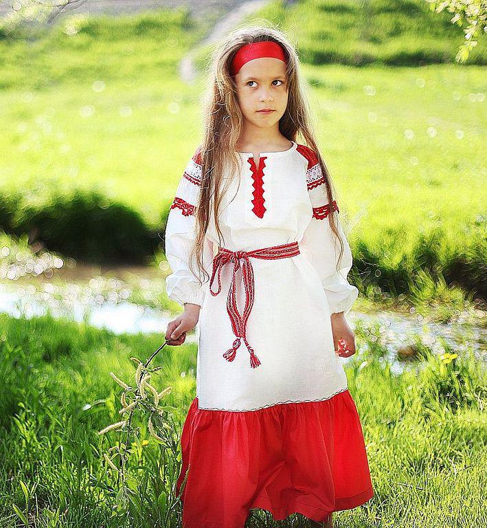 Русская народная платье