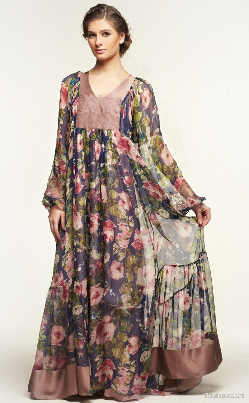 Ярусное платье из штапеля своими руками 18