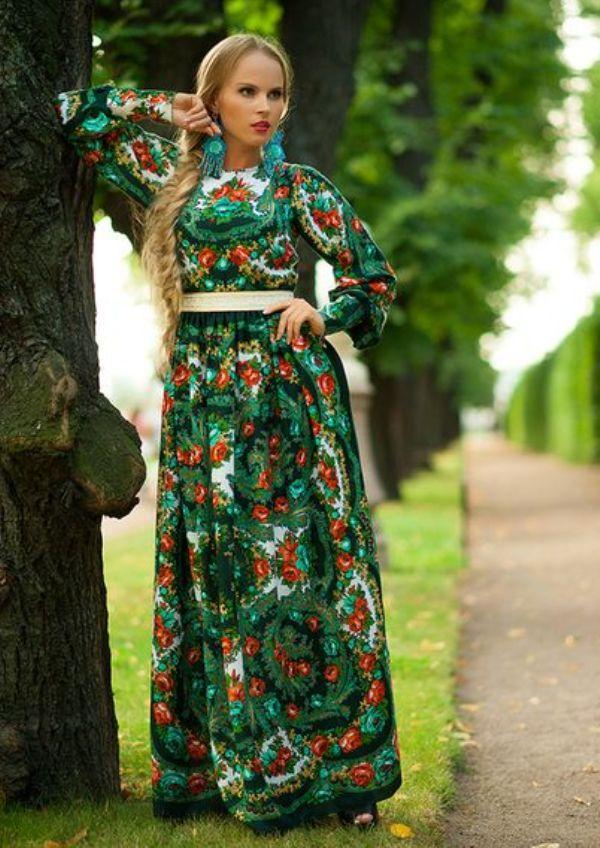 Платье в русском народном стиле своими руками