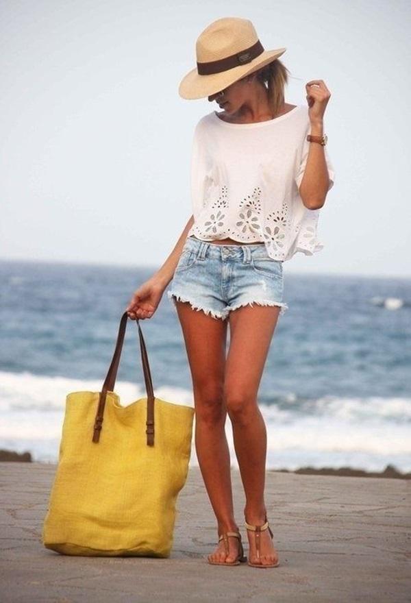 Что одевают на пляже