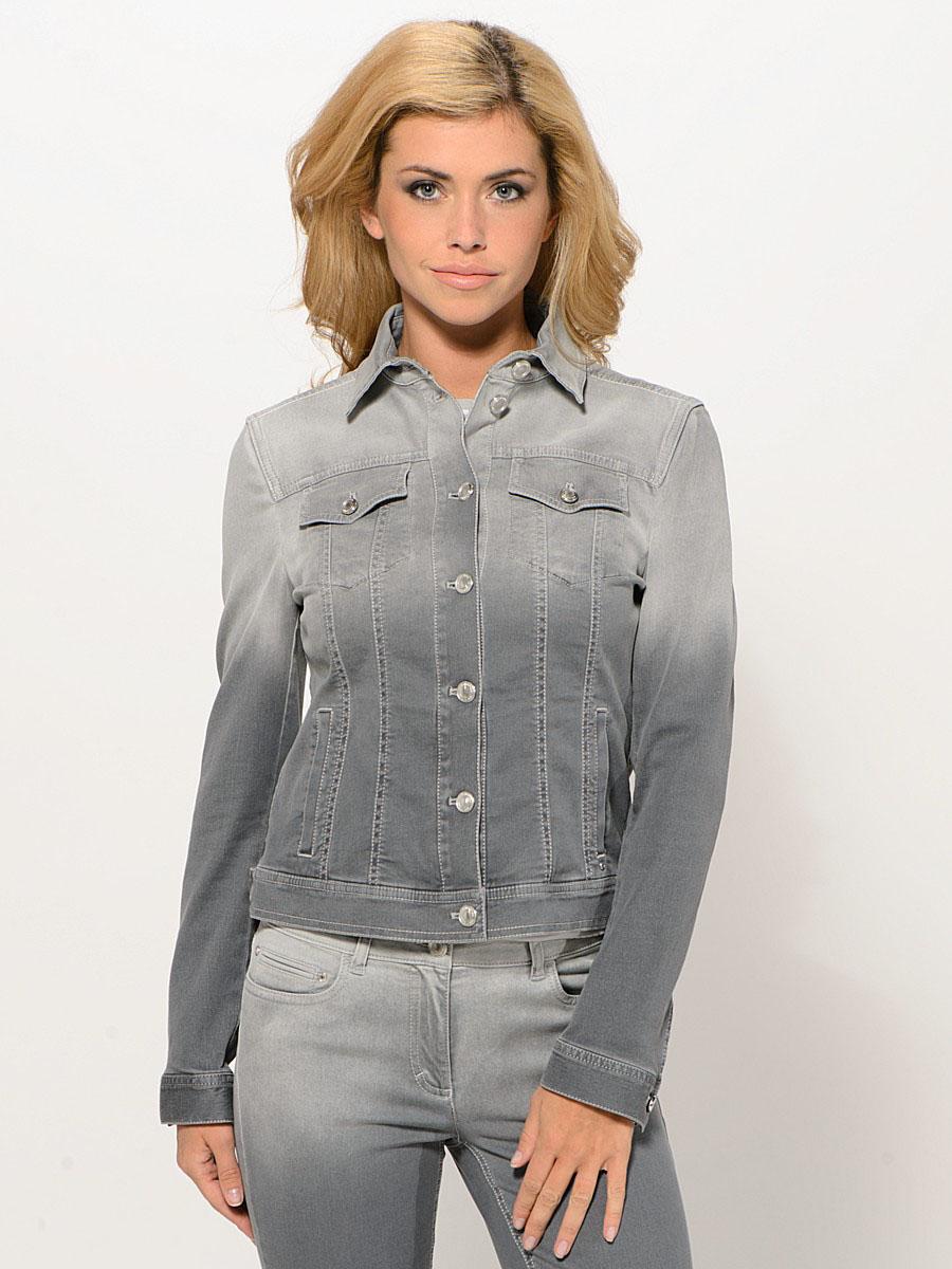Куртка цветная джинсовая