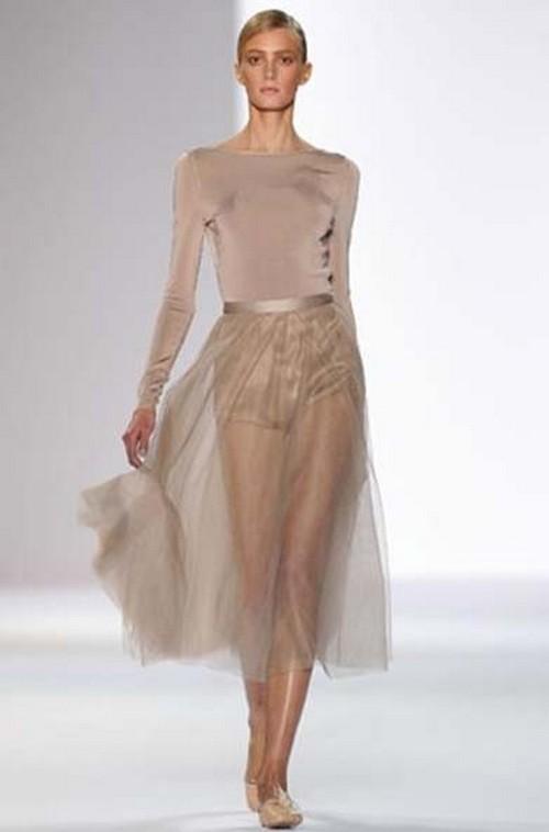 Прозрачная юбка под фото 785-394