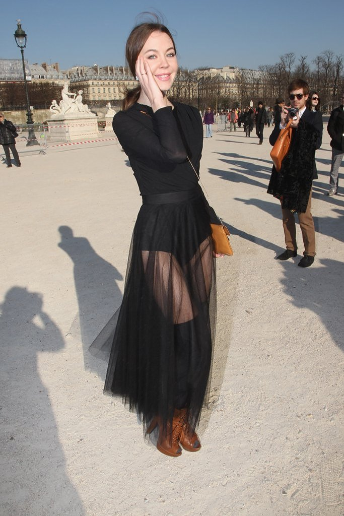 прозрачная юбка из фатина