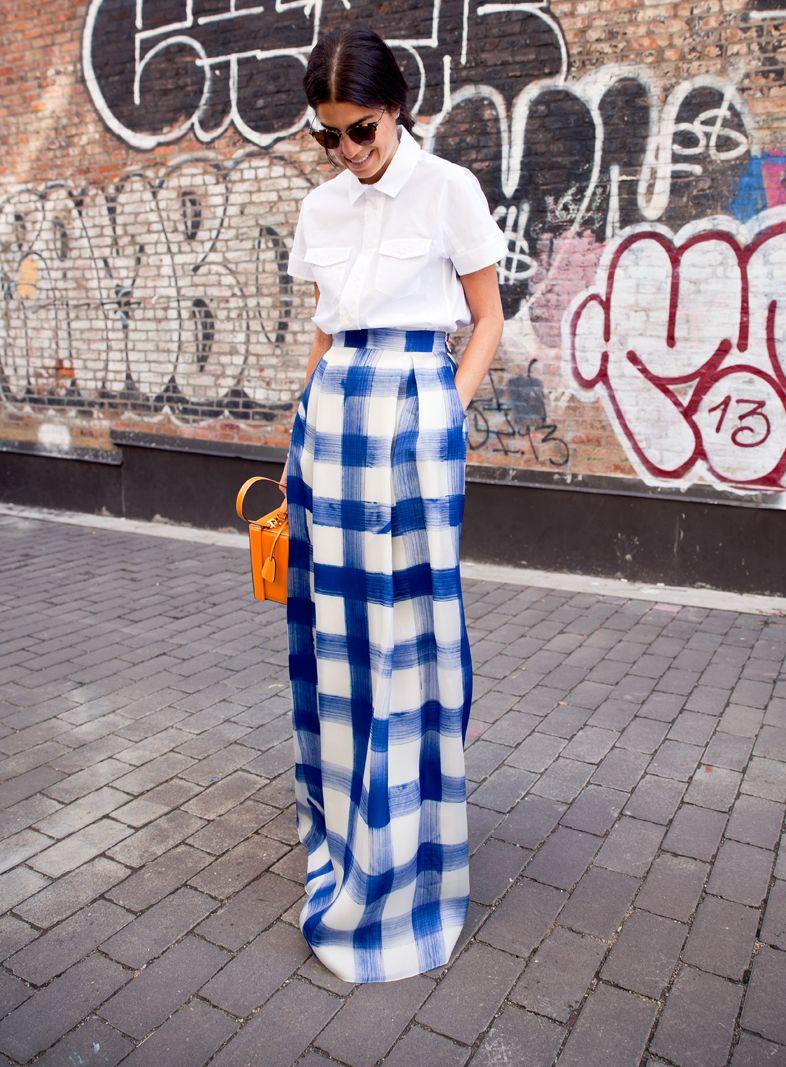 Уличные модные юбки
