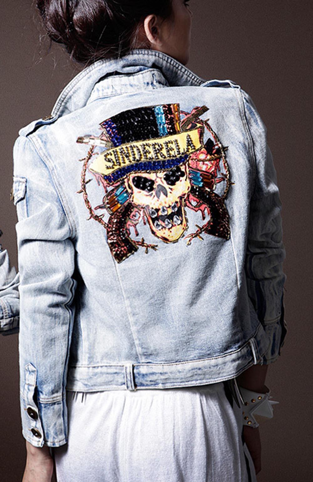 Модные рисунки на куртках