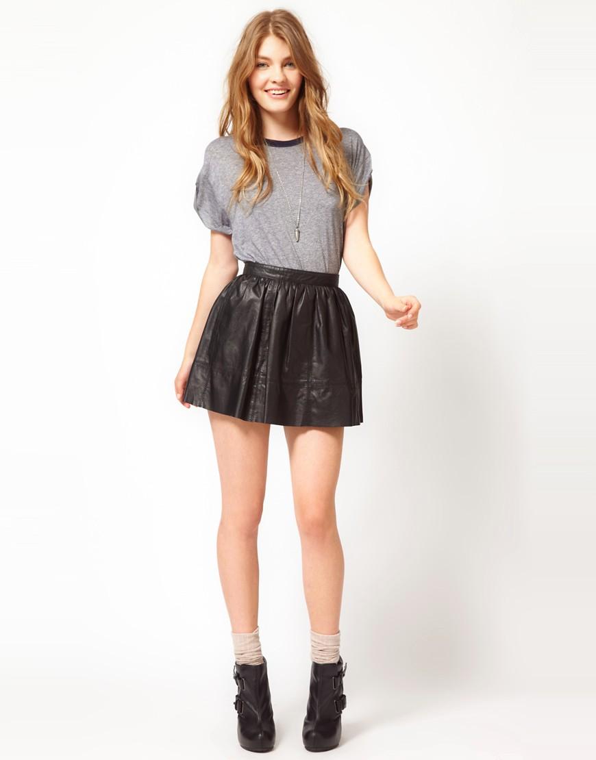 мини юбки на девках