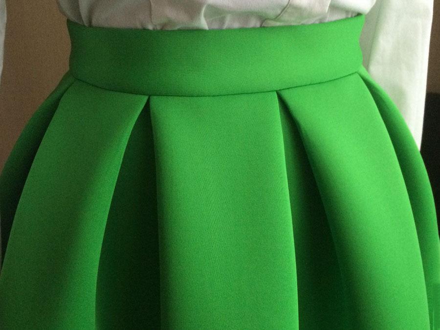 Мастер класс по шитью юбки из неопрена