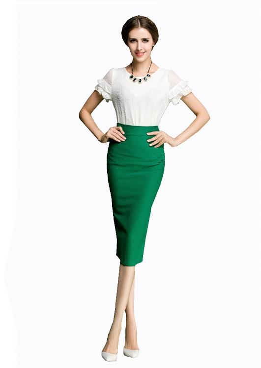 Красивые футболки фото для девушек под зеленую юбку фото 373-873