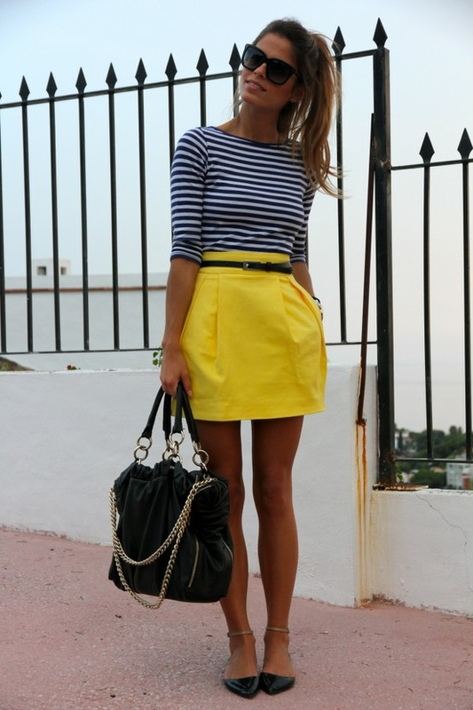 С чем можно одевать юбку фото
