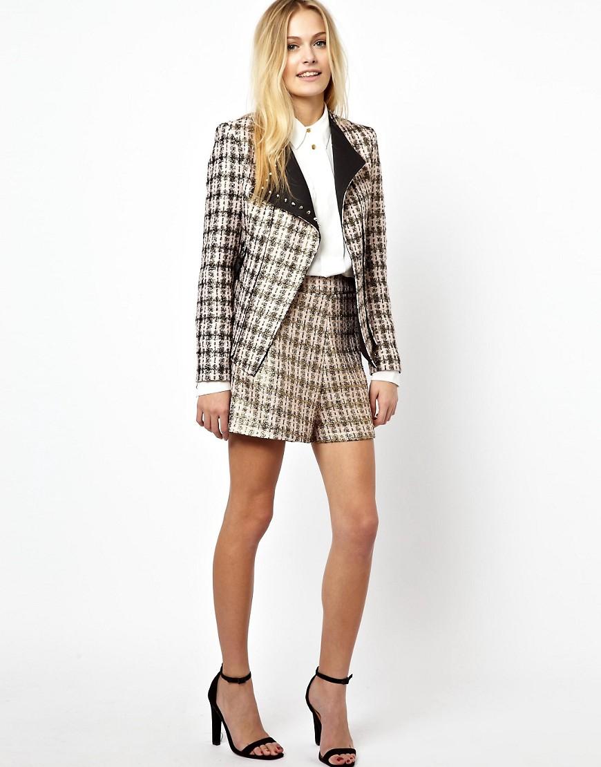 Женский костюм пиджак и шорты с доставкой
