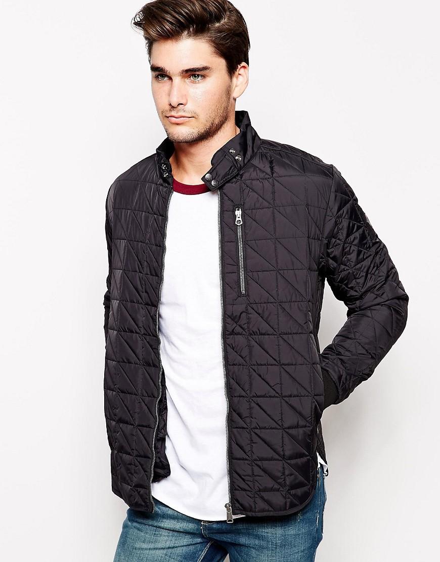Купить Модную Стеганую Куртку Мужскую