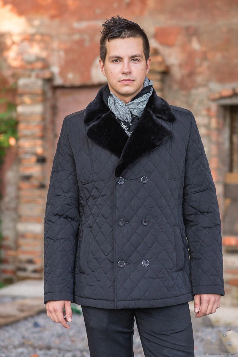 b2a93435251 Куртка мужская стеганная  стильная демисезонная на весну и осень