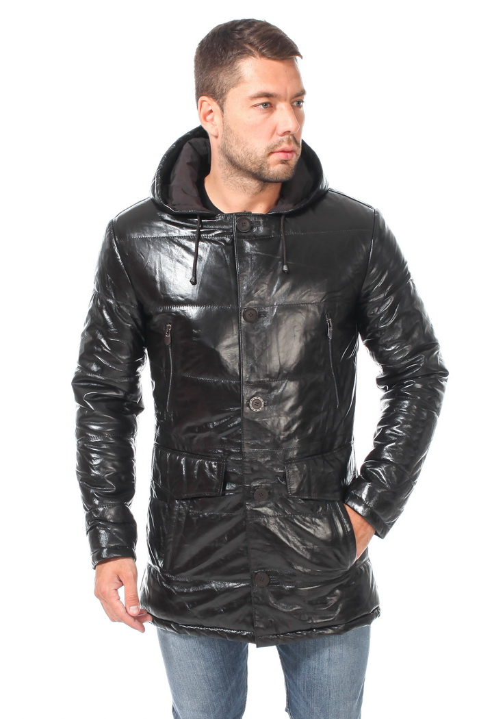 4be587f9ef1 Куртка с капюшоном мужская  с мехом