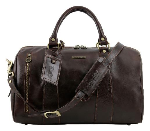 Кожаные дорожные сумки (47 фото)  мужские и женские, холщовая, из ... c7aad4fa8d3