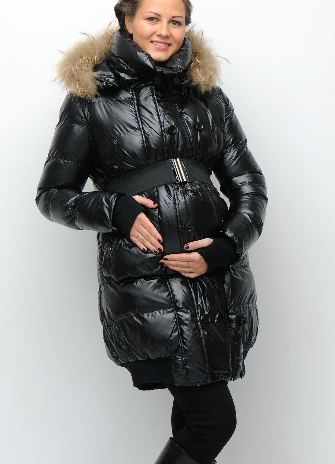5e7c2d72e3a7 Пуховики для беременных (48 фото)  зимние, легкие, трапеция, со вставками