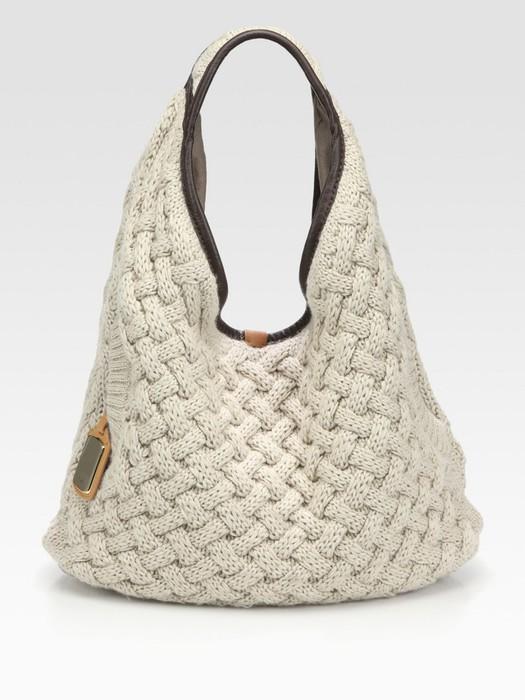 Вязание спицами женские сумки 99