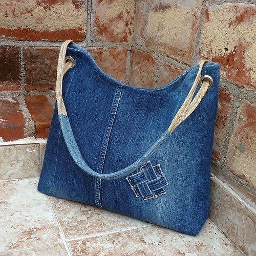 Джинсовая сумка из старых джинсов своими руками видео